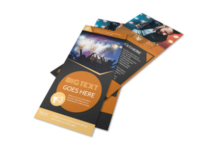 Always Live Music Concert Flyer Template 2 preview