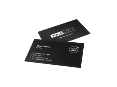 Generic Business Card Template 11160 preview