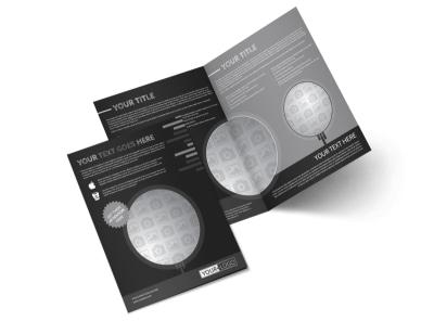Generic Bi-Fold Brochure Template 11161