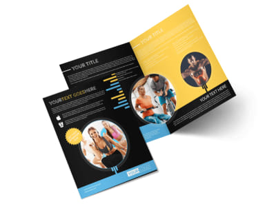 Your Personal Fitness Bi-Fold Brochure Template 2 preview