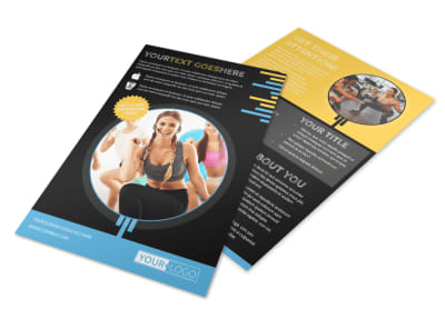 Your Personal Fitness Flyer Template 3 preview