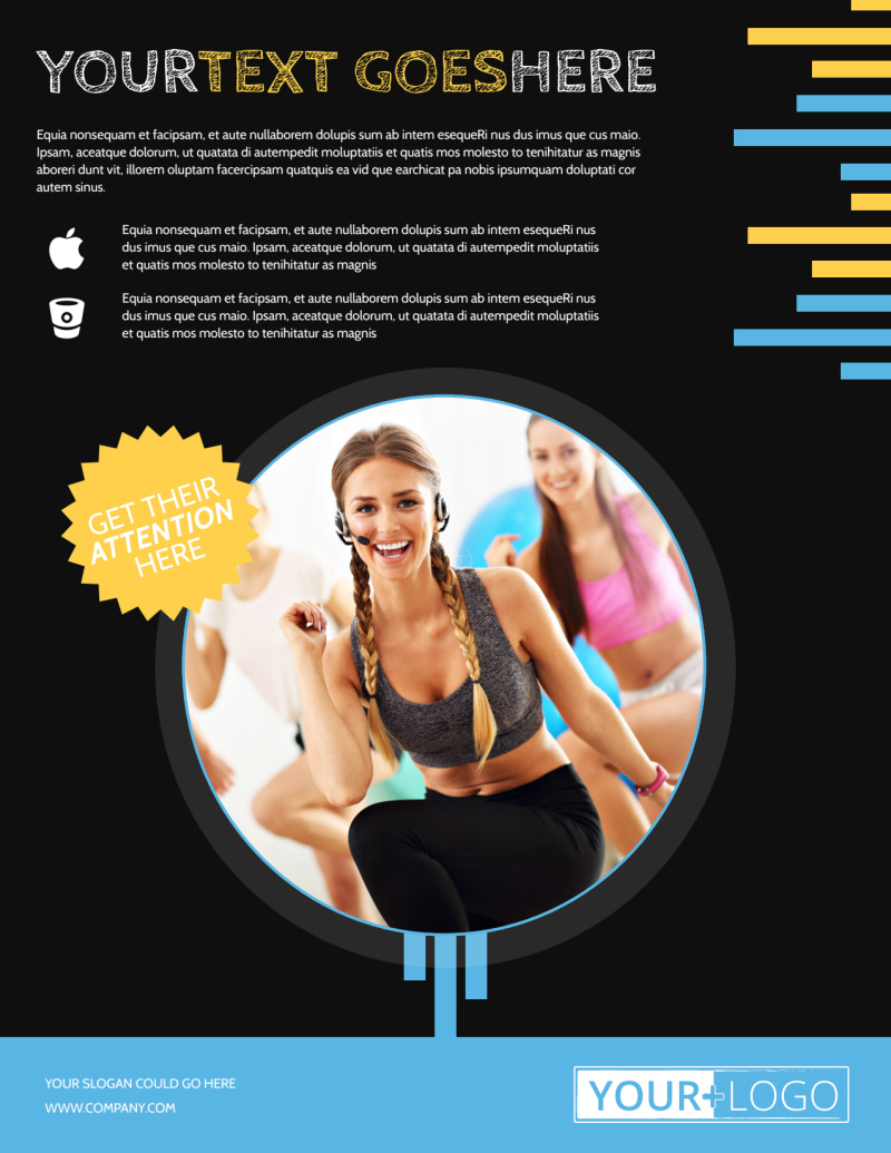 Your Personal Fitness Flyer Template Preview 2