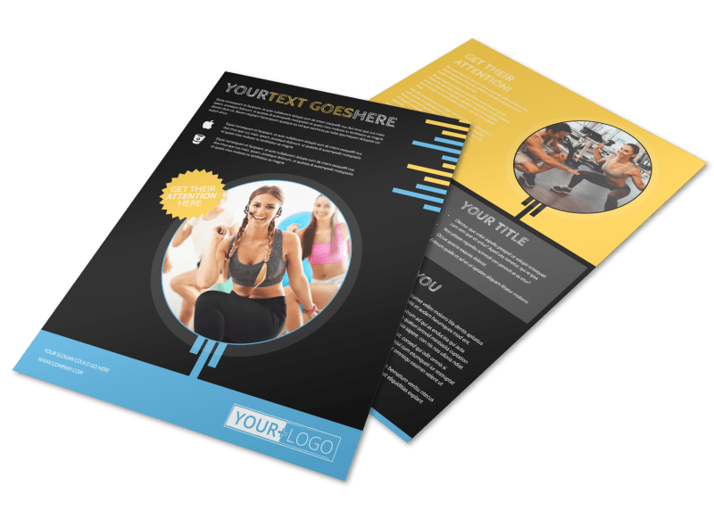 Your Personal Fitness Flyer Template Preview 1