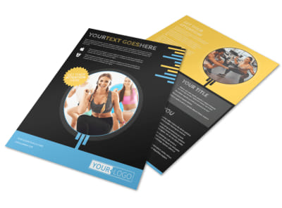Your Personal Fitness Flyer Template