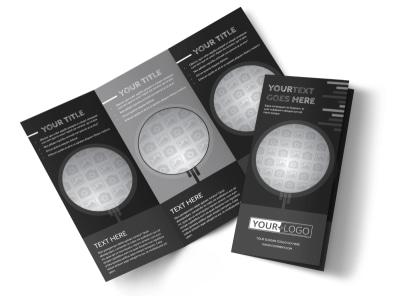 Generic Tri-Fold Brochure Template 11167