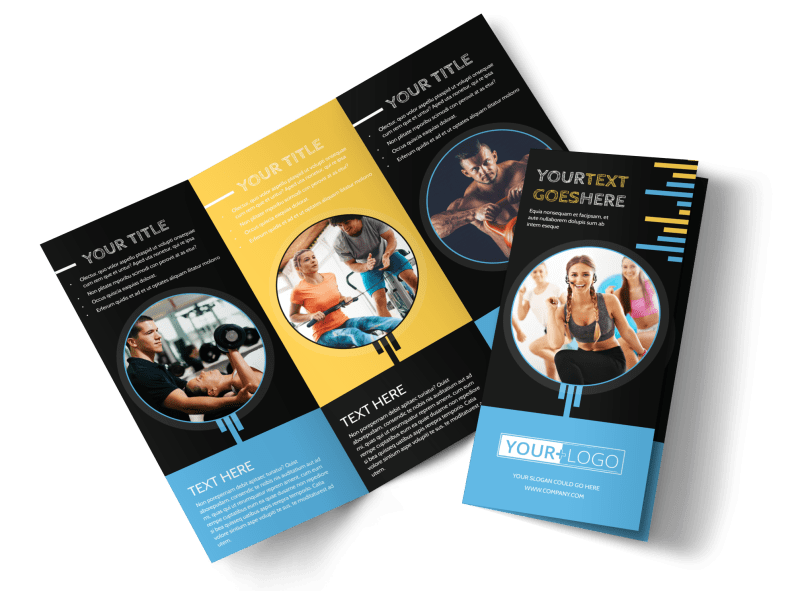 Your Personal Fitness Brochure Template Preview 1