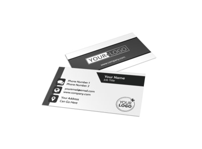 Generic Business Card Template 11169