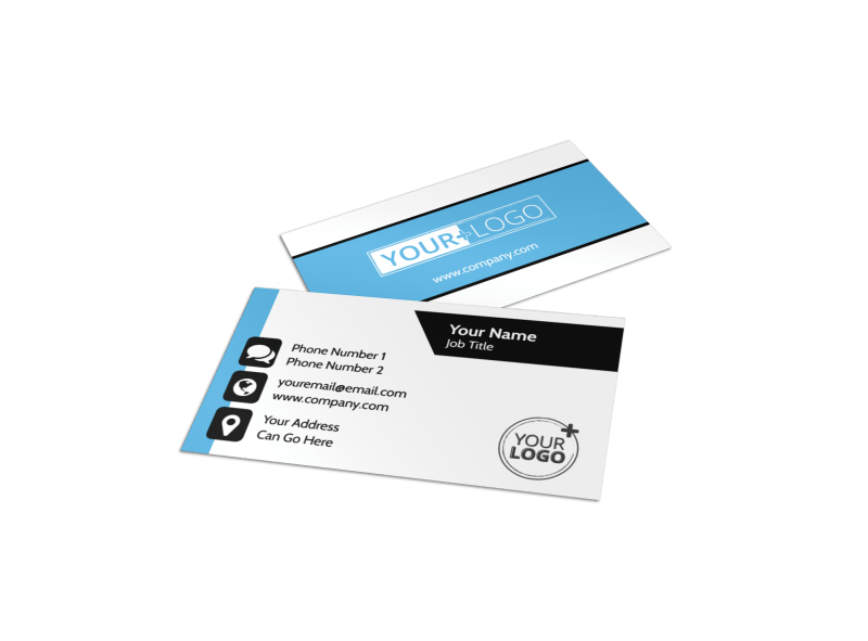 Your Personal Fitness Business Card Template Preview 1