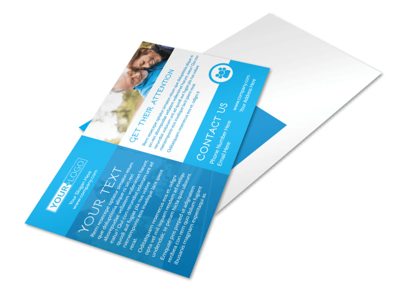 Reliable Health Insurance Postcard Template 2