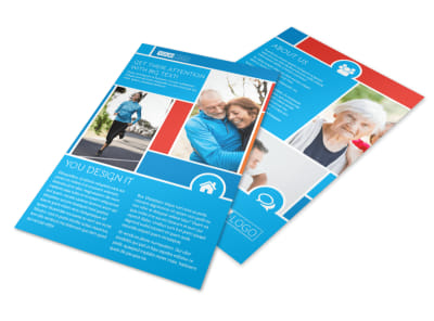 Reliable Health Insurance Flyer Template 3
