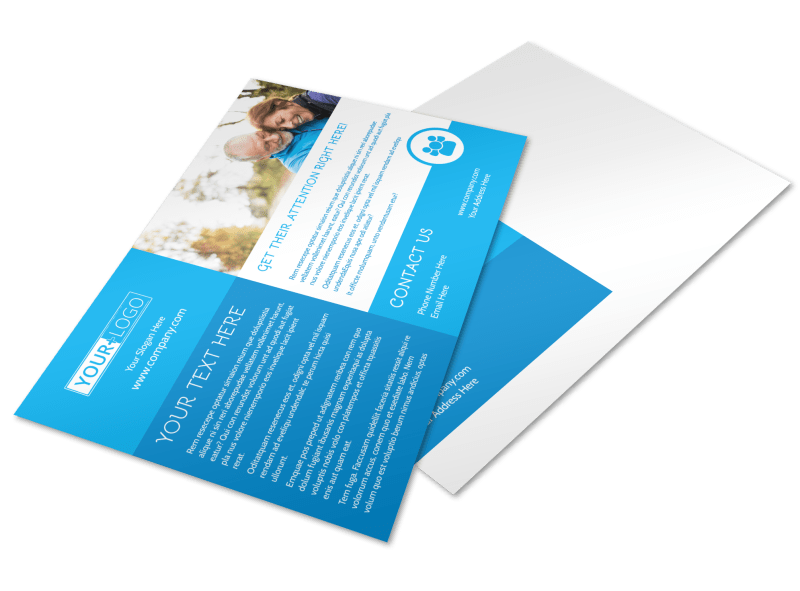 Reliable Health Insurance Postcard Template Preview 1