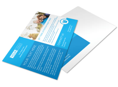 Reliable Health Insurance Postcard Template preview