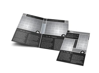 Generic Bi-Fold Brochure Template 11174