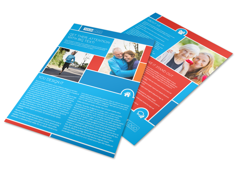 Reliable Health Insurance Flyer Template Preview 1