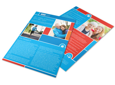 Reliable Health Insurance Flyer Template