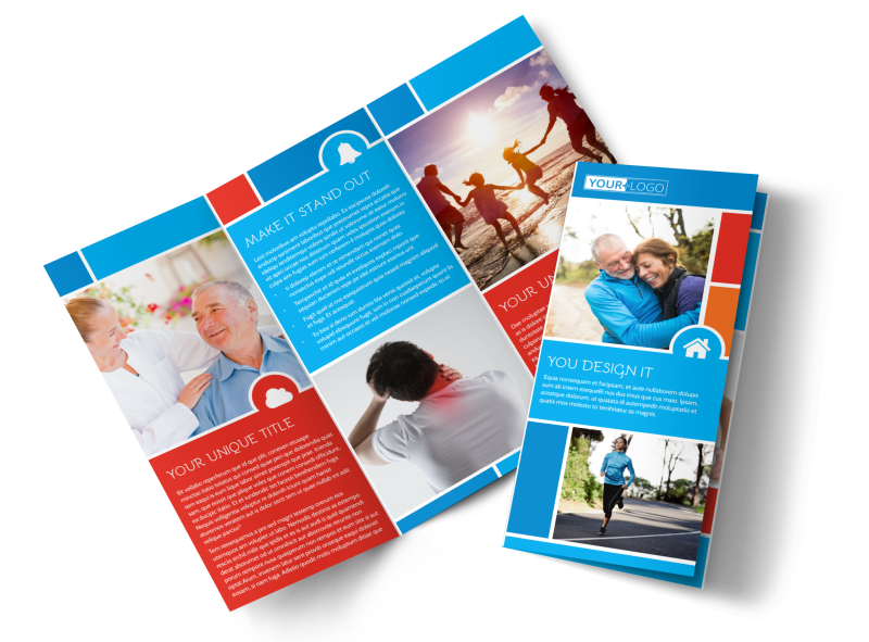 Reliable Health Insurance Brochure Template Preview 1