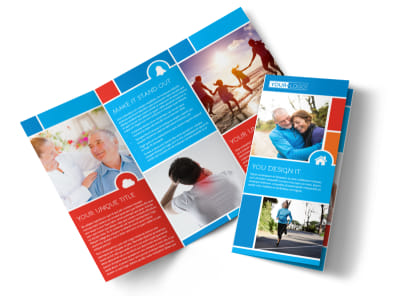 Reliable Health Insurance Tri-Fold Brochure Template