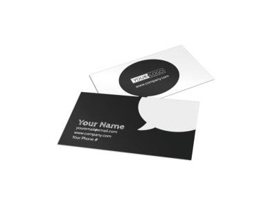 Generic Business Card Template 11178