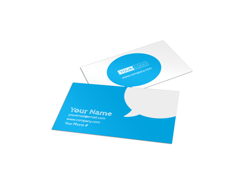 Reliable Health Insurance Business Card Template Preview 1