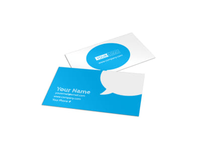 Reliable Health Insurance Business Card Template preview
