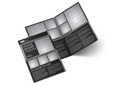Generic Bi-Fold Brochure Template 11183