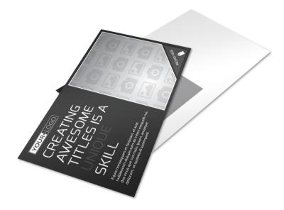 Generic Postcard Template 11184