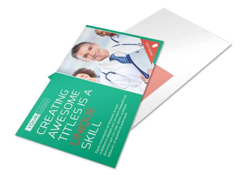 Medical Service Center Postcard Template 2