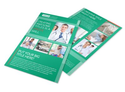 Medical Service Center Flyer Template 3