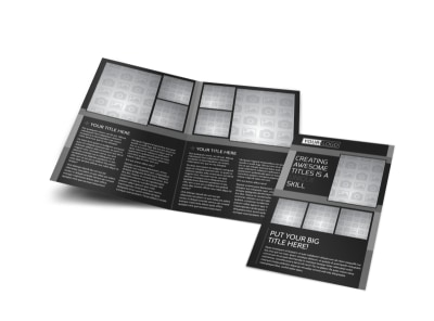 Generic Bi-Fold Brochure Template 11187