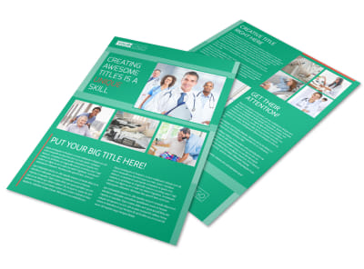 Medical Service Center Flyer Template