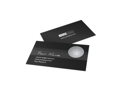 Generic Business Card Template 11191