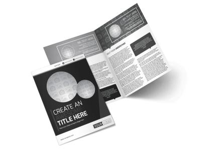 Generic Bi-Fold Brochure Template 11192