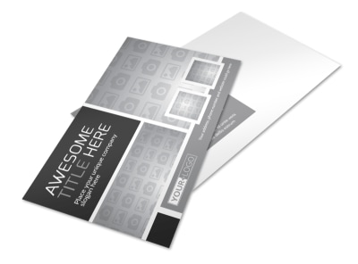 Generic Postcard Template 11193 preview