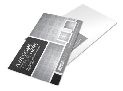 Generic Postcard Template 11193