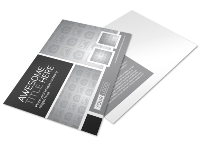 Generic Postcard Template 11195 preview