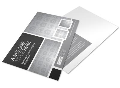 Generic Postcard Template 11195