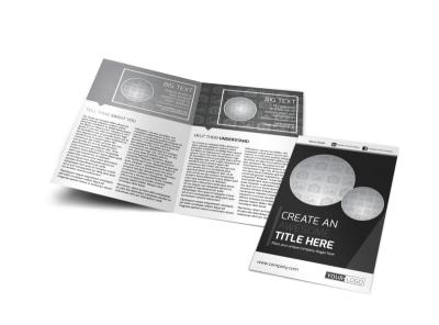 Generic Bi-Fold Brochure Template 11196