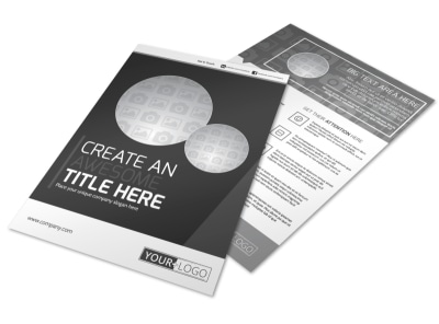 Generic Flyer Template 11197 preview