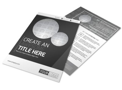 Generic Flyer Template 11197