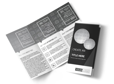 Generic Tri-Fold Brochure Template 11198 preview