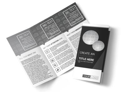 Generic Tri-Fold Brochure Template 11198