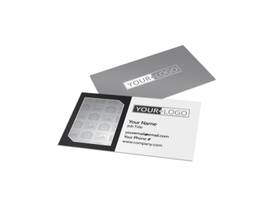 Generic Business Card Template 11200 preview