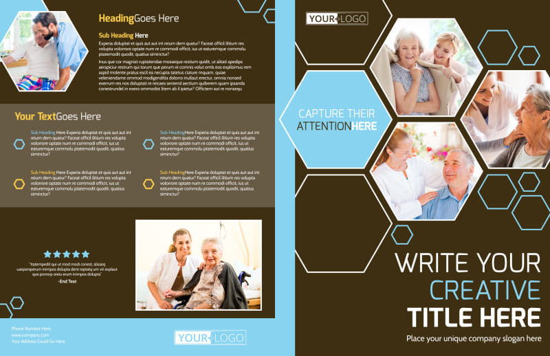 Reliable Home Healthcare Brochure Template Preview 2