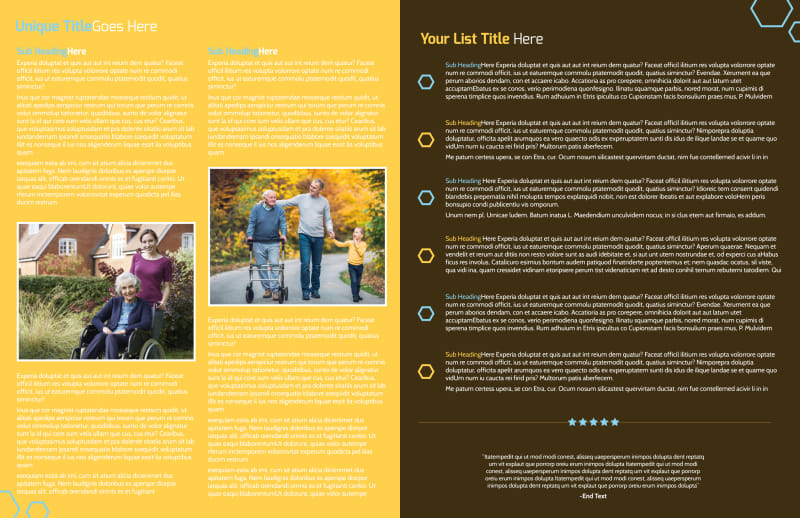 Reliable Home Healthcare Brochure Template Preview 3