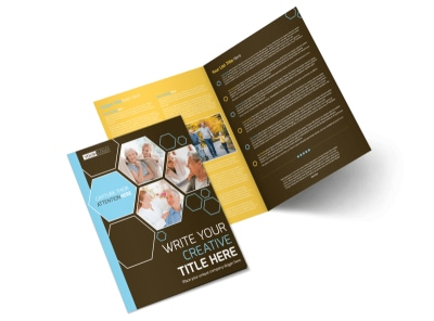 Reliable Home Healthcare Bi-Fold Brochure Template 2