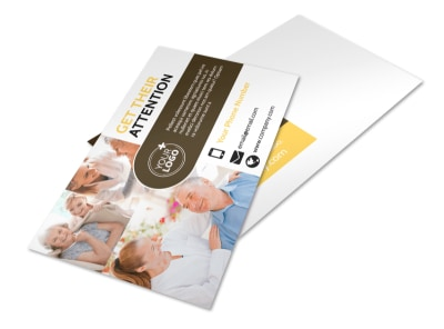 Reliable Home Healthcare Postcard Template 2