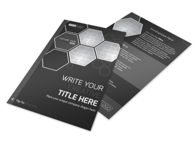 Generic Flyer Template 11203