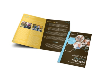Reliable Home Healthcare Bi-Fold Brochure Template