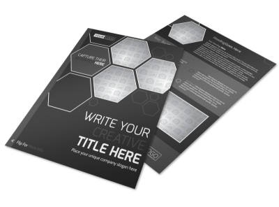Generic Flyer Template 11206