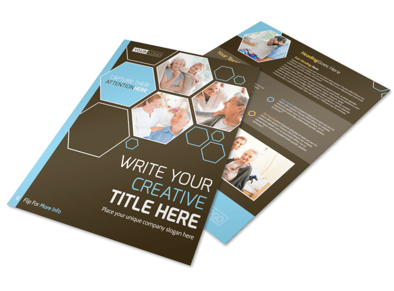 Reliable Home Healthcare Business Card Template  Mycreativeshop